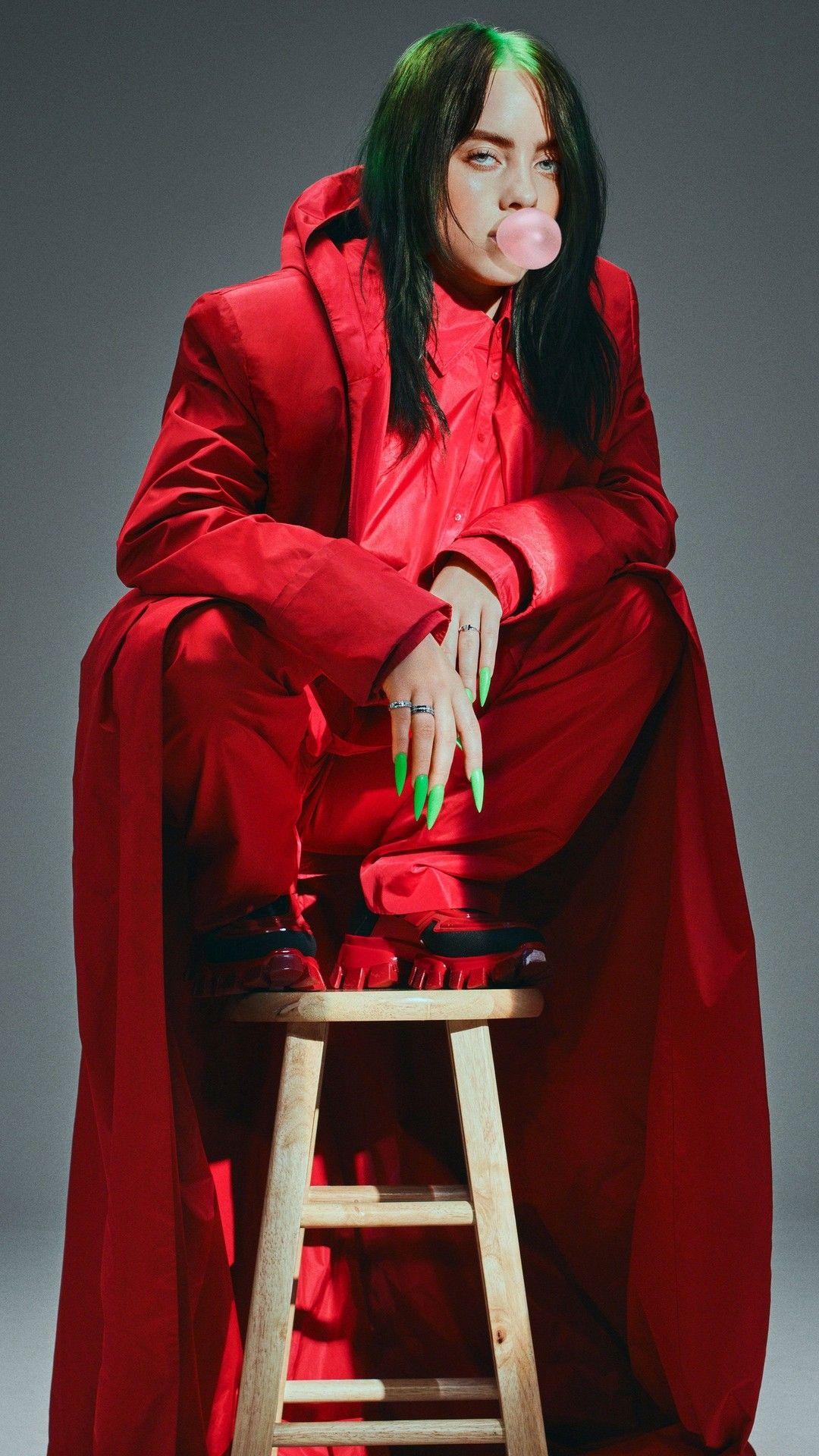 Billie Eilish Green Hair With Images Billie Eilish Billie