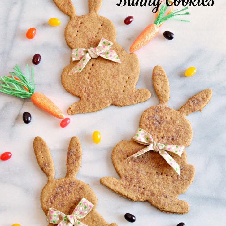 Molasses Wheat Bunny Cookies