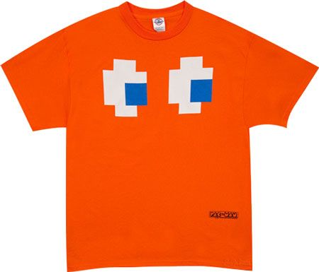 Pixel Ghost Eyes Adult Short Sleeve T-Shirt