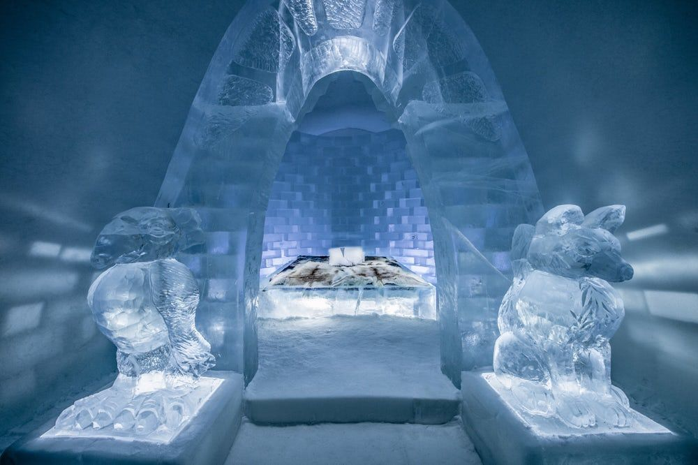 Sweden S Icehotel Opens For Business With Amazing New Ice