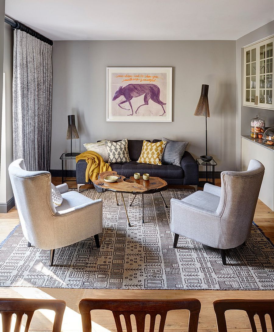 round table living room. 30 Live Edge Coffee Tables That Transform the Living Room