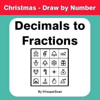 Christmas Math: Convert Decimals to Fractions - Math & Art ...
