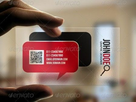 image relating to Printable Transparency identify This Easy Easy Responsive Clear workplace card is