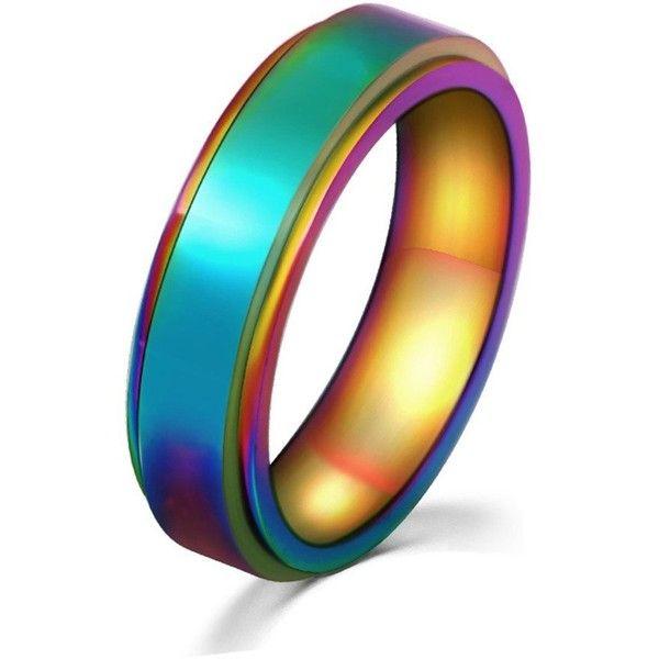 Hommes Arc en ciel bijoux Charm bracelet simili cuir avec acier inoxydable accessoires LGBT