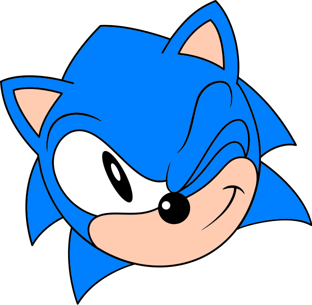 File Classic Sonic Wink Svg Sonic Retro In 2020 Sonic Art Sonic Classic Sonic