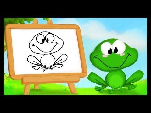 Comment dessiner une grenouille grenouilles - Dessiner une grenouille ...