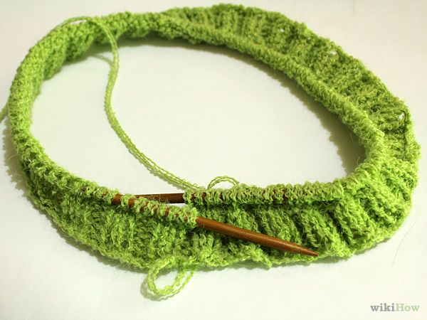 Pattern For Knitting A Scarf On Circular Needles : Knit on Circular Needles Circular needles, Mittens and ...
