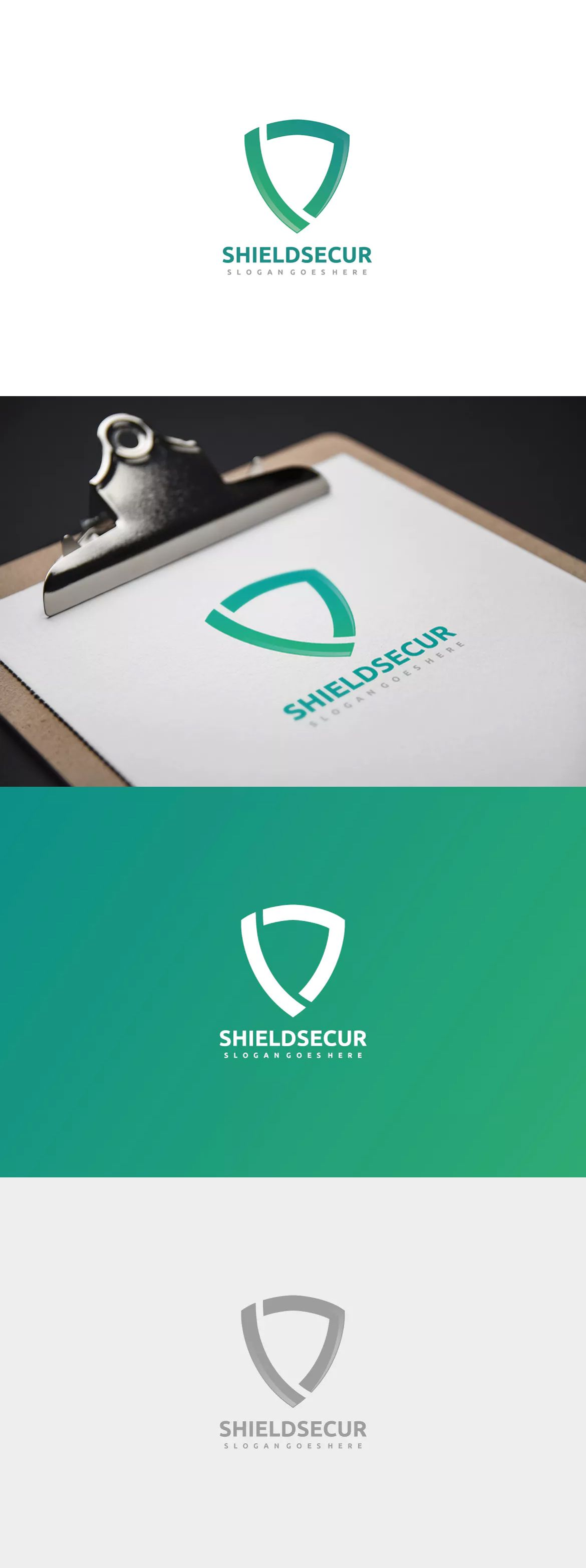 Security Shield Logo by 3ab2ou on Shield logo, Security