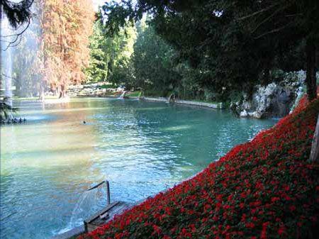 il parco termale Villa dei Cedri a Lazise Open water