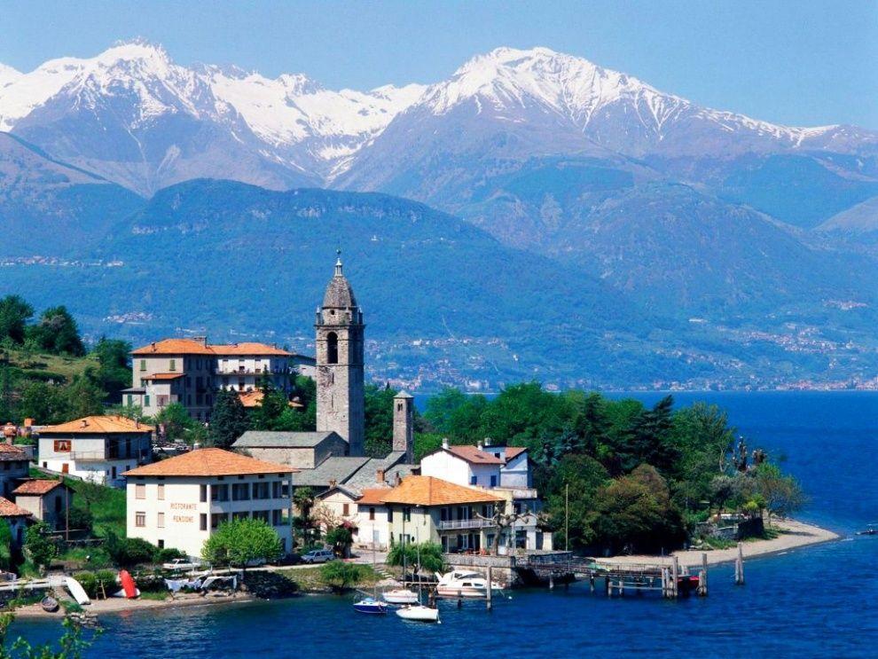 Taliansko, jazero Como
