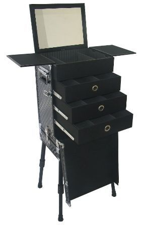 portable makeup station. I need this in my life.