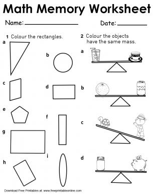 measuring units worksheets