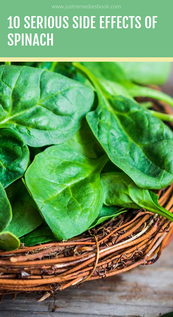 10 Serious Side Effects Of Spinach Spinach benefits