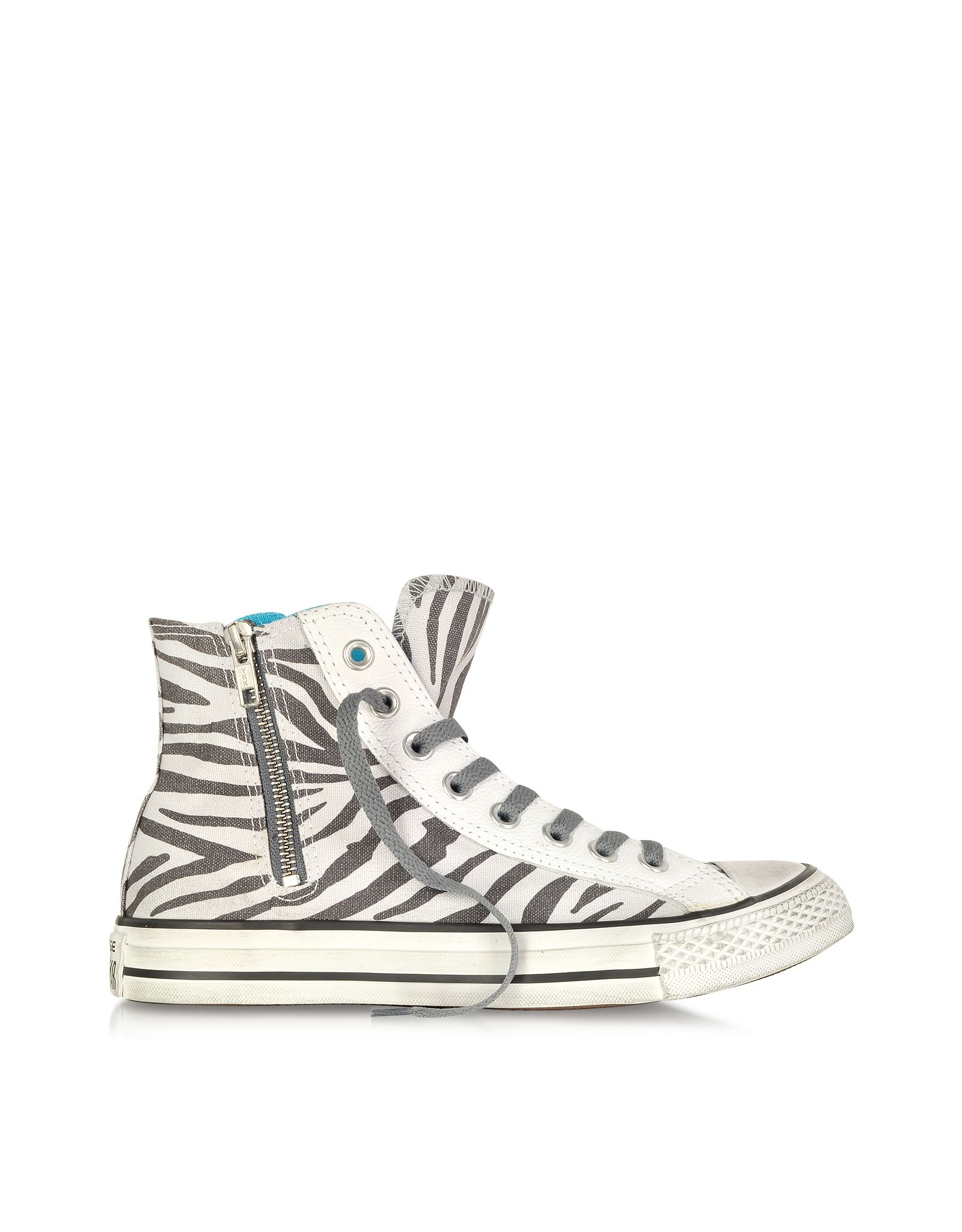 c9bc10ae4600 CONVERSE LIMITED EDITION All Star High-top Animal Printed Canvas Zip Sneaker