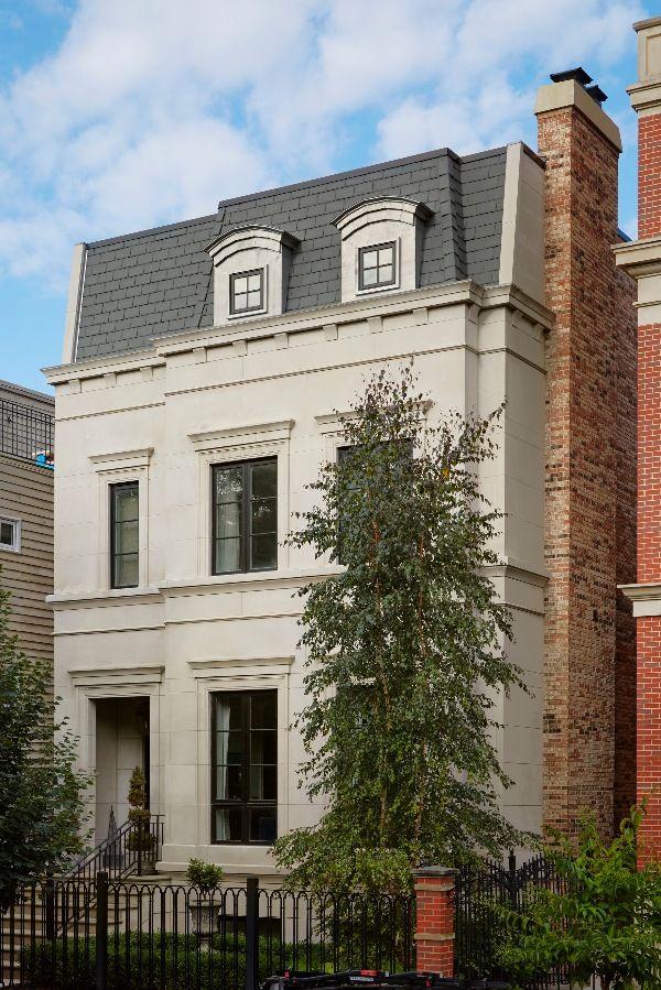 Vibrant Chicago Home   Exquisite Exteriors   Exterior house