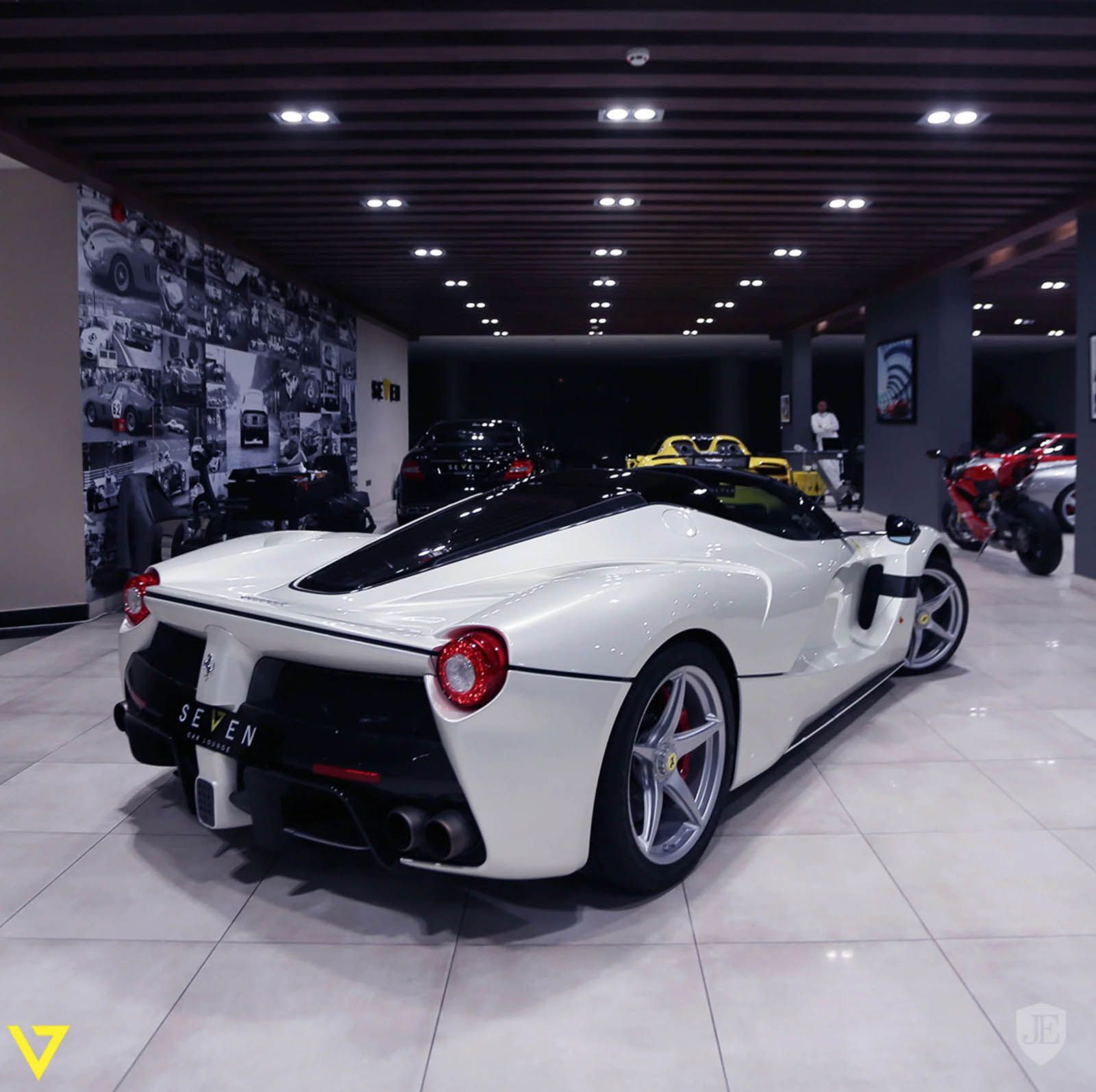 Any Takers For A Brand New White Laferrari Aperta Ferrari