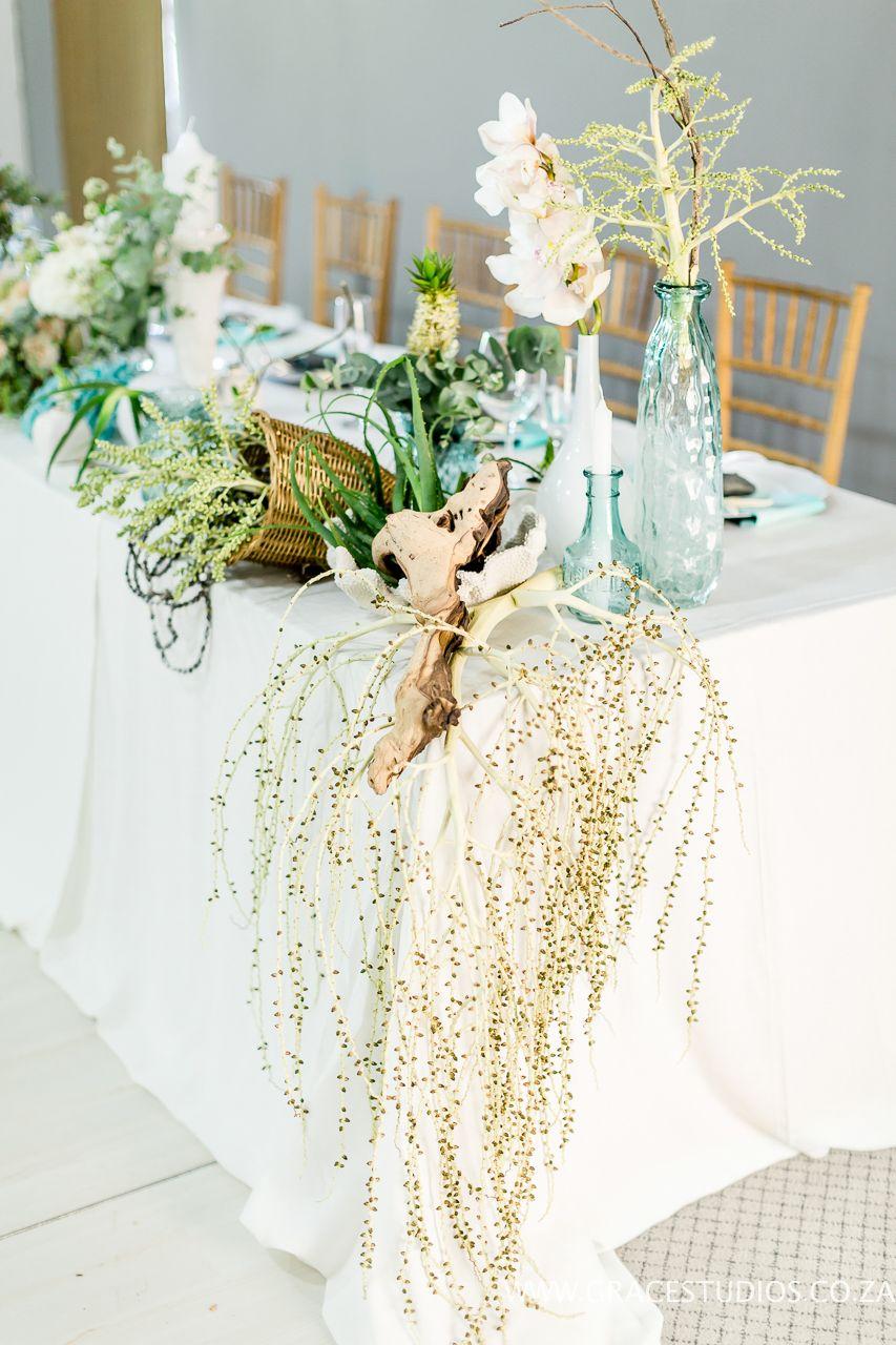 Teal Turquoise Inspiration, drift wood, beach wedding decor, luxury ...
