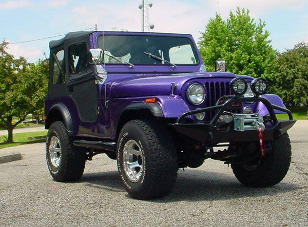 ea7d4cc6bee Purple Jeep Wrangler. I need this.   randoms!   Jeep, Jeep wrangler ...