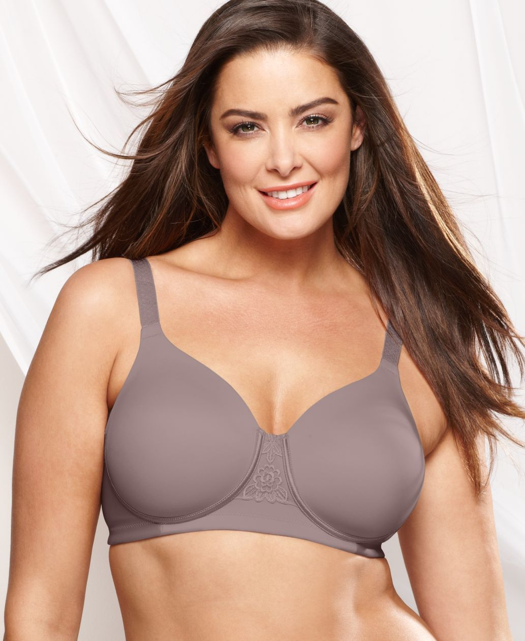 Vanity Fair Full Figure Beauty Back Smoother Wireless Bra 71380