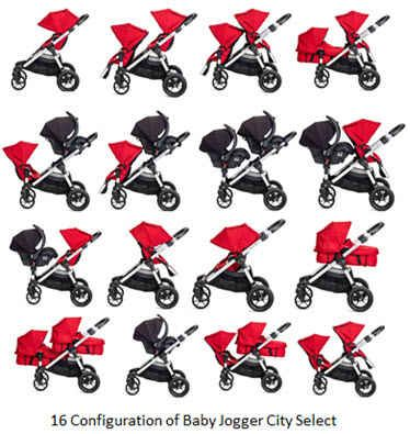 A Multi Function Stroller With Over 16 Seating