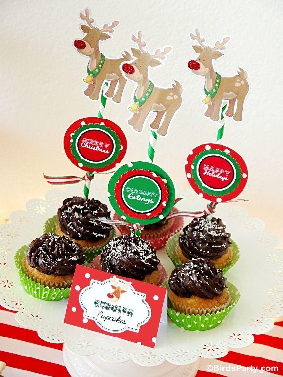 Rudolph celebración de días festivos