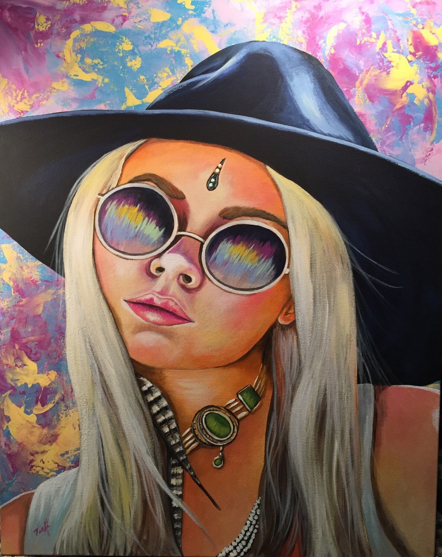 Pin By Molly Boyd On Tattoo Ideas: SOLD Jasmine, 24x30, Original Fine Art By Vicki Floyd Boyd