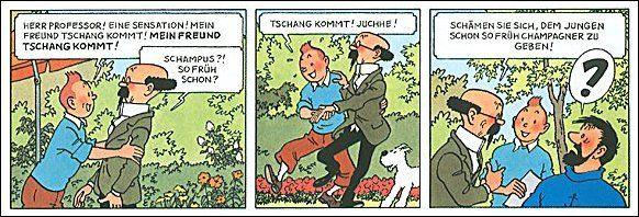 Tintin, Herge