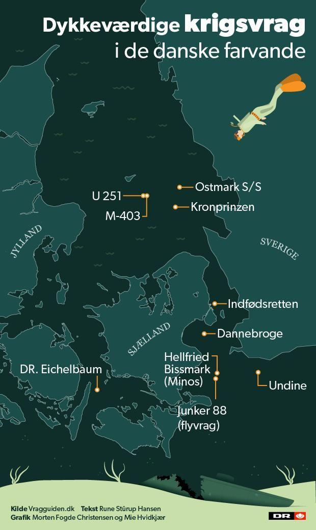 Kort Her Er Danmarks Mest Dykkevaerdige Krigsvrag Nyheder Dr