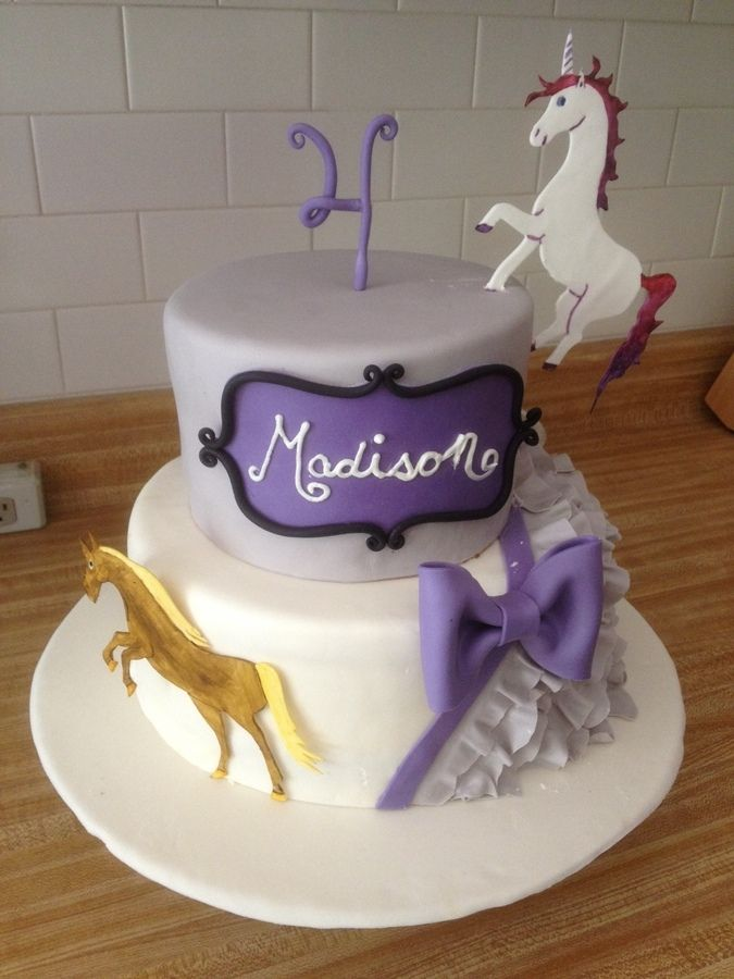 Easy Horse Cakes Horse Unicorn Cake Birthday Cakes