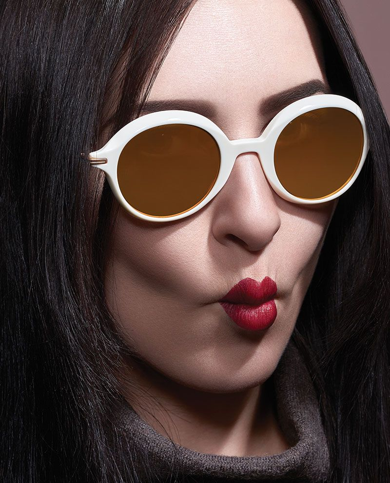 christian roth eyewear having a ball white   Eyewear campaign en ... a8c1436f7289