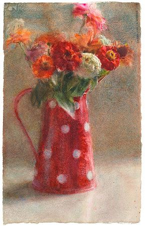 Dorry Van De Winkel Flower Art Floral Painting Floral Art