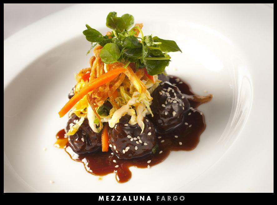 Asian Style Meatballs at Mezzaluna