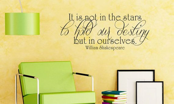 Art Wall Decals Wall Stickers Vinyl Decal Quote - William ...