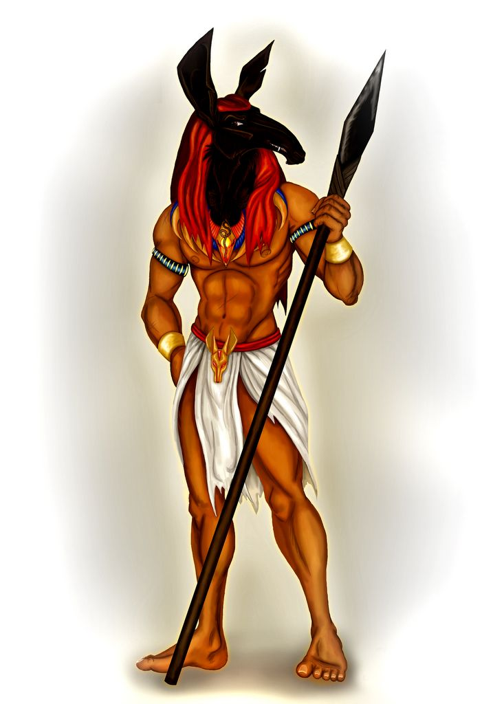 seth deus egípcio do deserto caos e tempestades set seth
