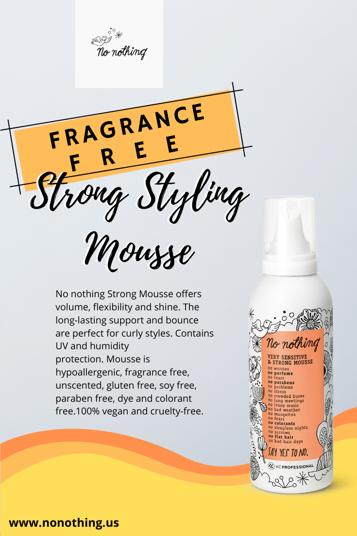 Strong Styling Mousse Best Hair Dye Conditioner On The Market Kc Professionalusa In 2020 Fragrance Free Products Fragrance Free Shampoo Paraben Free Products