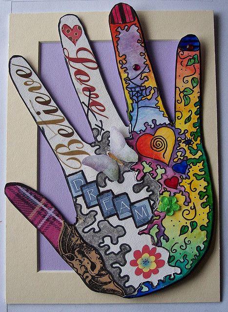 LIFE IN MY HAND  Kids art activities Art activities and Art therapy