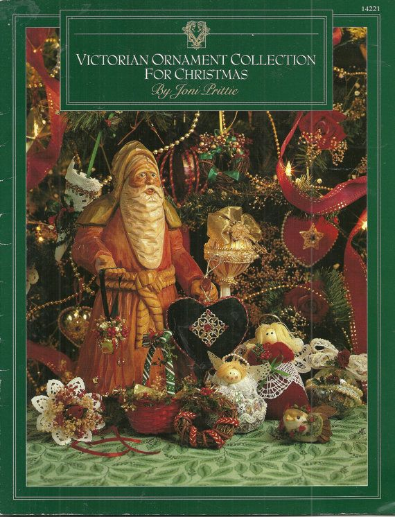Victorian Ornament Collection for Christmas, Bells Balls Wreaths Hearts Tussie Mussies