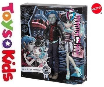 Monster High 2pack Garrott Du Roque Amp Rochelle Monster High Dolls Rochelle Goyle Monster High