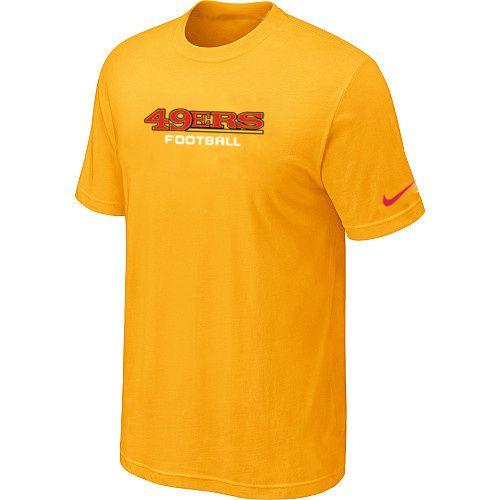 bd6235e0af5 ... promo code for nike san francisco 49ers sideline legend authentic font dri  fit nfl t shirt