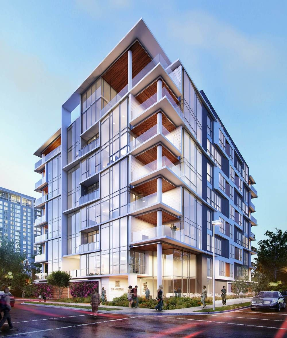 New Condos And Apartments Rise Up Around: An 8 Story Mid-rise Condo In Houston's