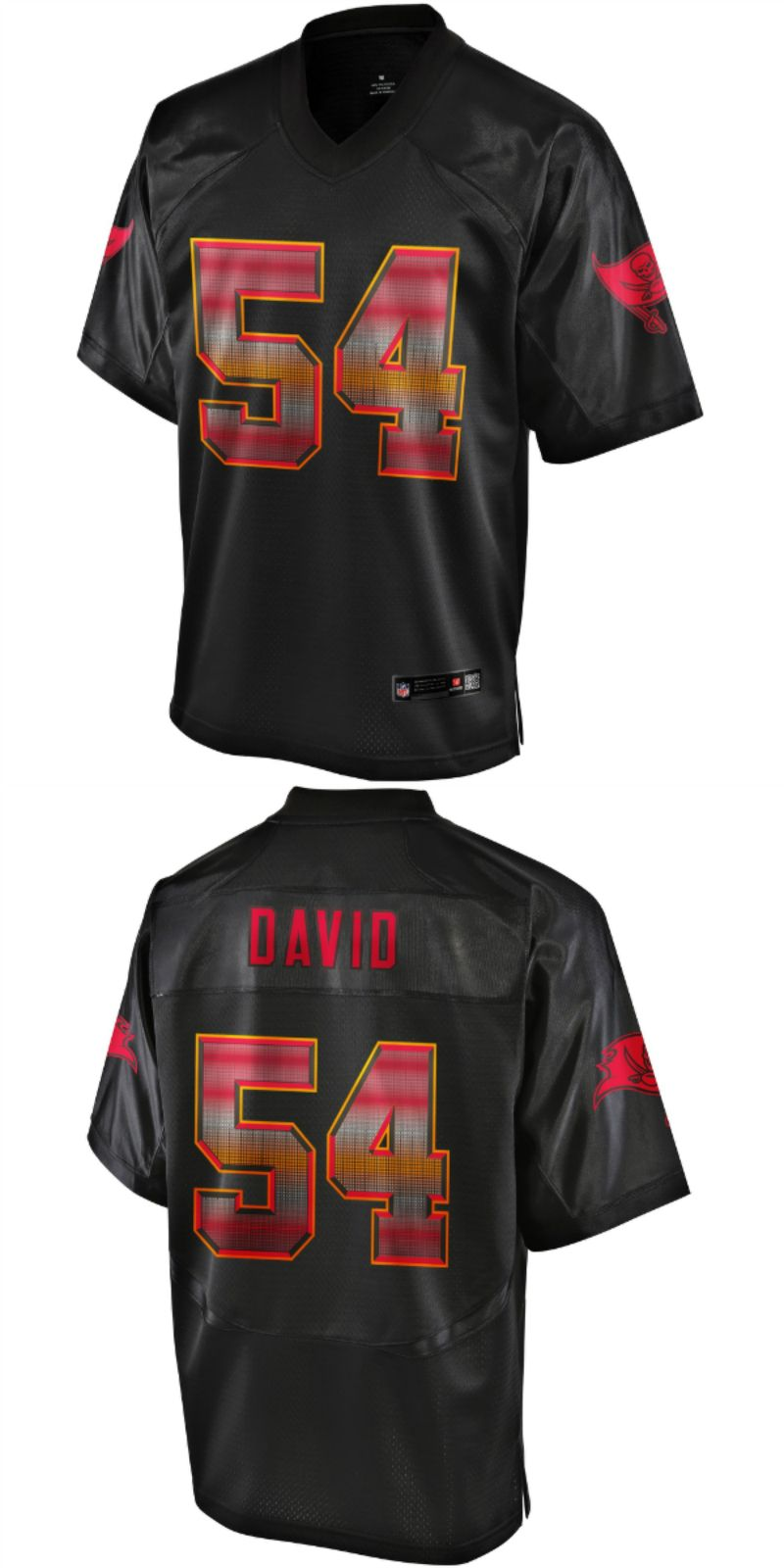 new product 7382f fdc38 UP TO 70% OFF. Lavonte David Tampa Bay Buccaneers NFL Pro ...