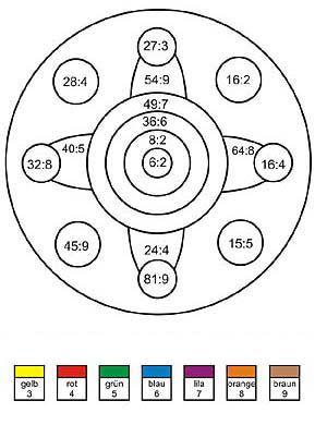 rechenmandalaf r die 2 klasse geteiltaufgaben m 1x1. Black Bedroom Furniture Sets. Home Design Ideas