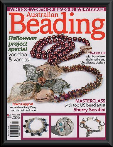Australian Beading Magazine FRONT COVER | Flickr - Photo Sharing!