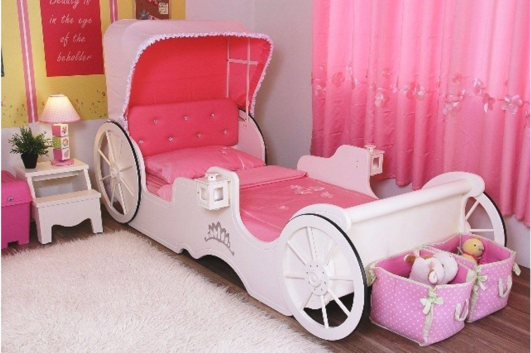 Disney Princess Carriage Bed Bedroom Furniture Of The Sweetest Nursery Paint Colors That Arent Pink O Princess Bedroom Set Toddler Bedroom Sets Toddler Bed Set