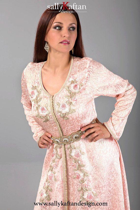 Graceful Basma Moroccan Kaftan Caftan Fatima Pinterest