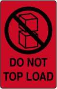 Do not top load £0.99 #signs #packaging