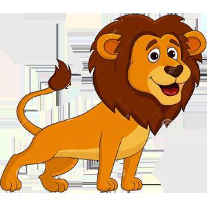 Cute Lion Png 300 300 Pixels Cartoon Lion Cartoon Tiger Cute Lion