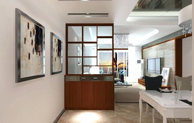 Living Room Partition Design Contemporary Room Divider Ideas