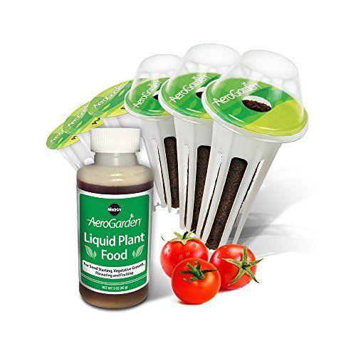 Miraclegro Aerogarden Red Heirloom Cherry Tomato Seed Pod 640 x 480