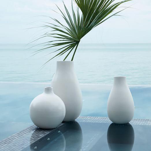 Pure White Ceramic Vase Oversized Organic In 2018 Gomez Syling